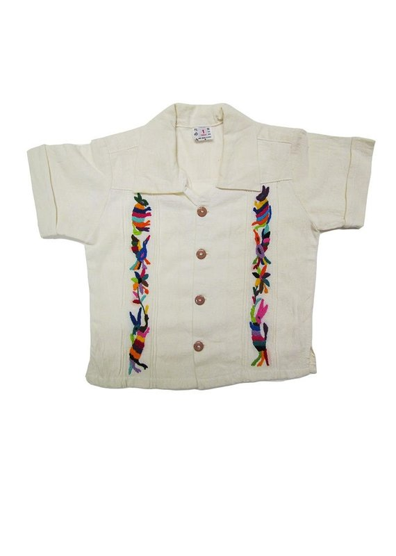 Embroidered Guayabera