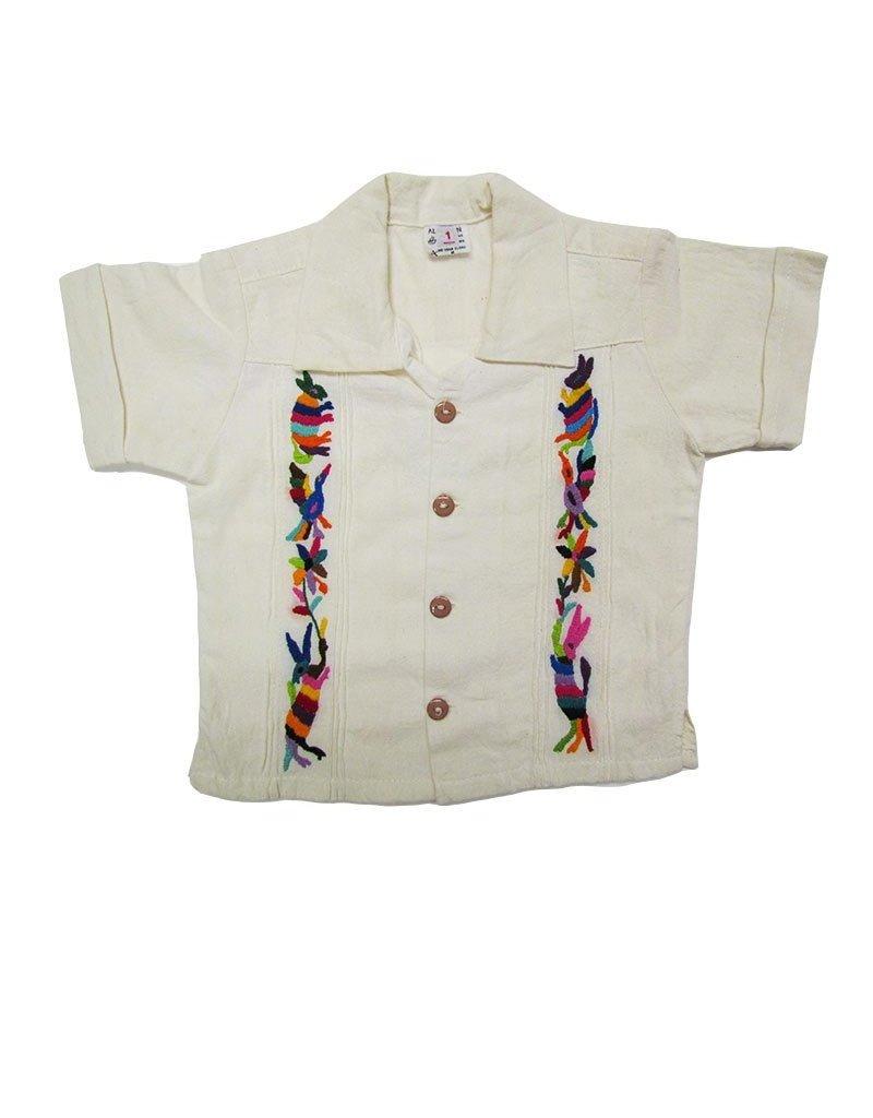 Embroidered Guayabera