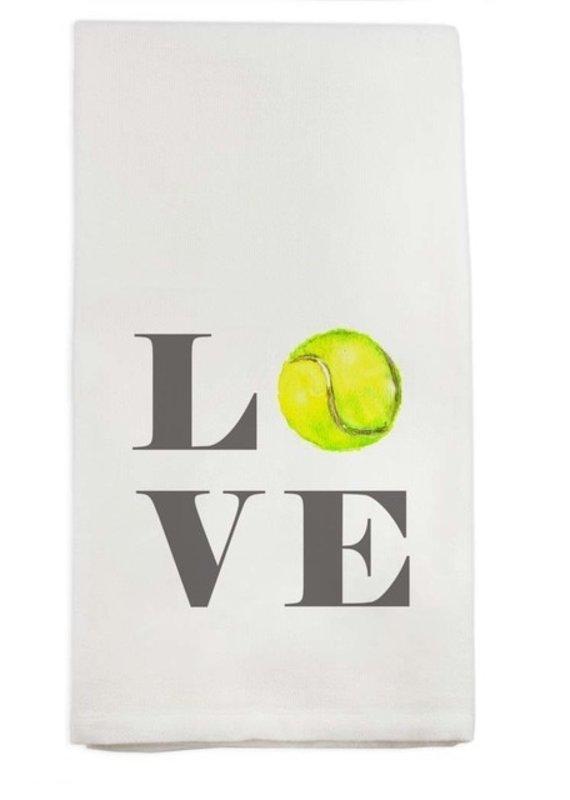 Tennis Love Tea Towel | Cotton