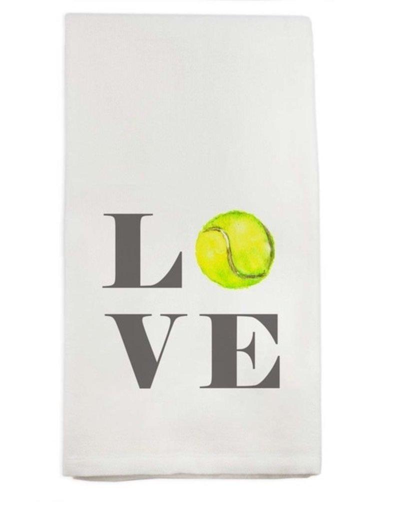 Tennis Love Tea Towel