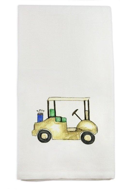 Golf Cart Tea Towel | Cotton