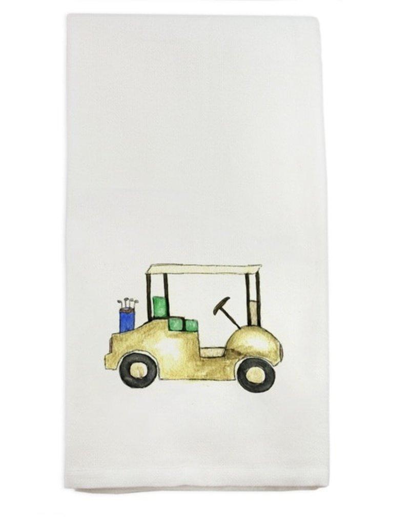 Golf Cart Tea Towel