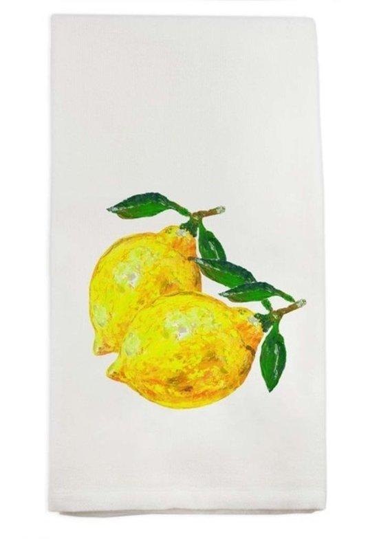 Two Lemons Tea Towel | Cotton