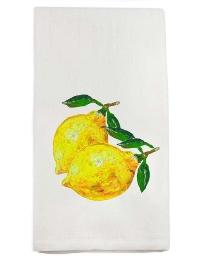 Two Lemons Tea Towel