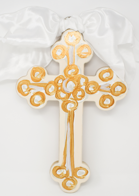 Hand Painted Cross | Large