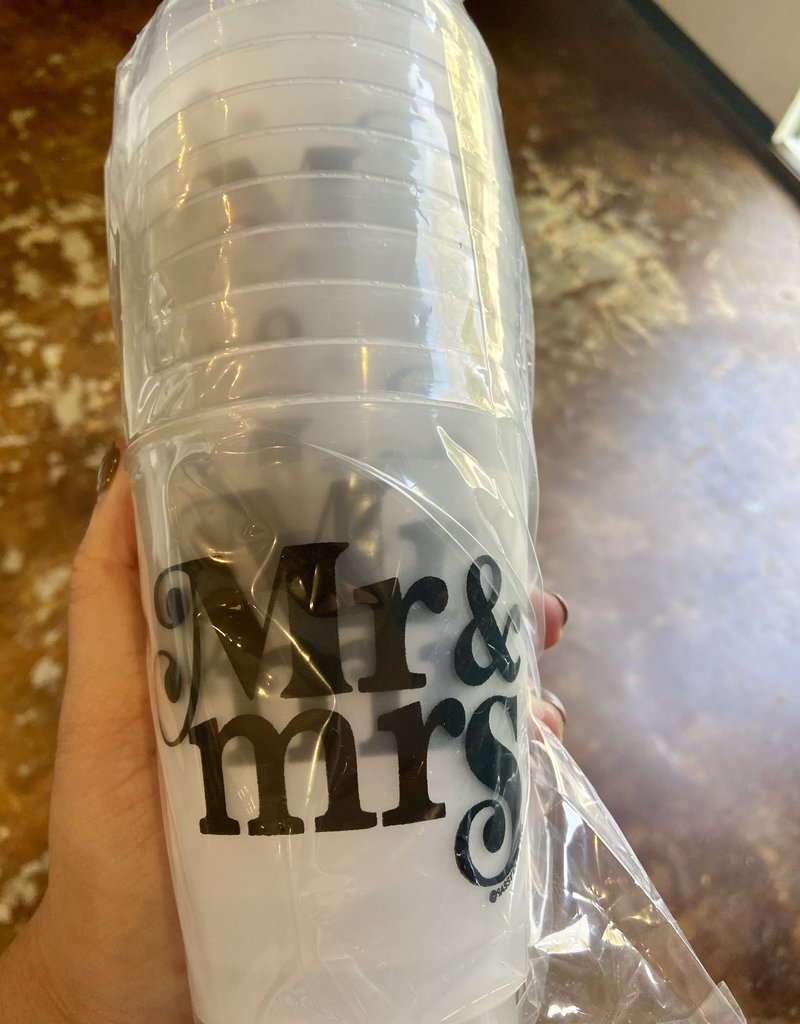Mr and Mrs Frost Flex Cups