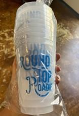 Round Top Roadie Cups Frost Flex