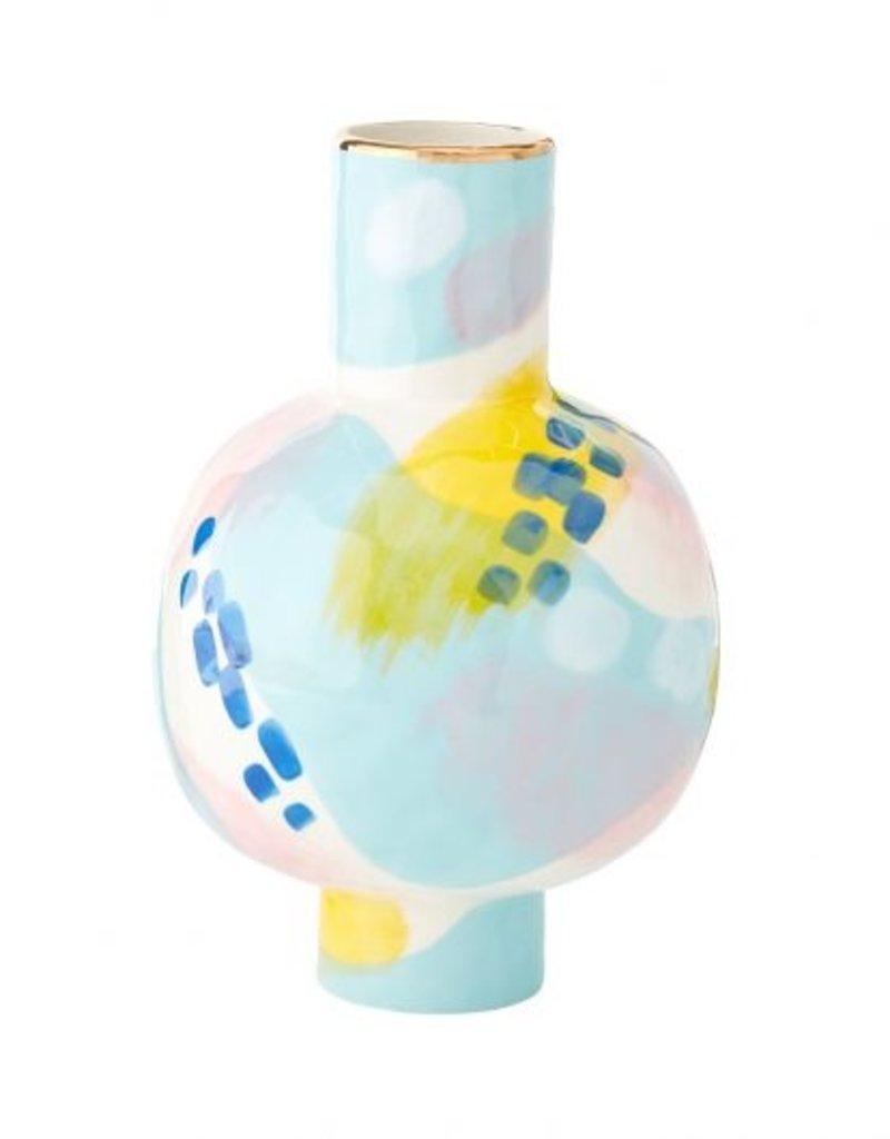 June Multi Brushstroke Vase