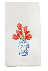 Tulips in Vase Tea Towel