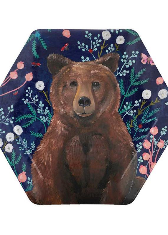 Wildflower Bear Plate