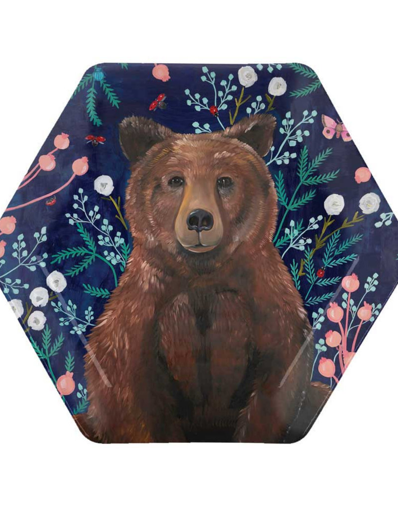 Wildflower Bear Plate