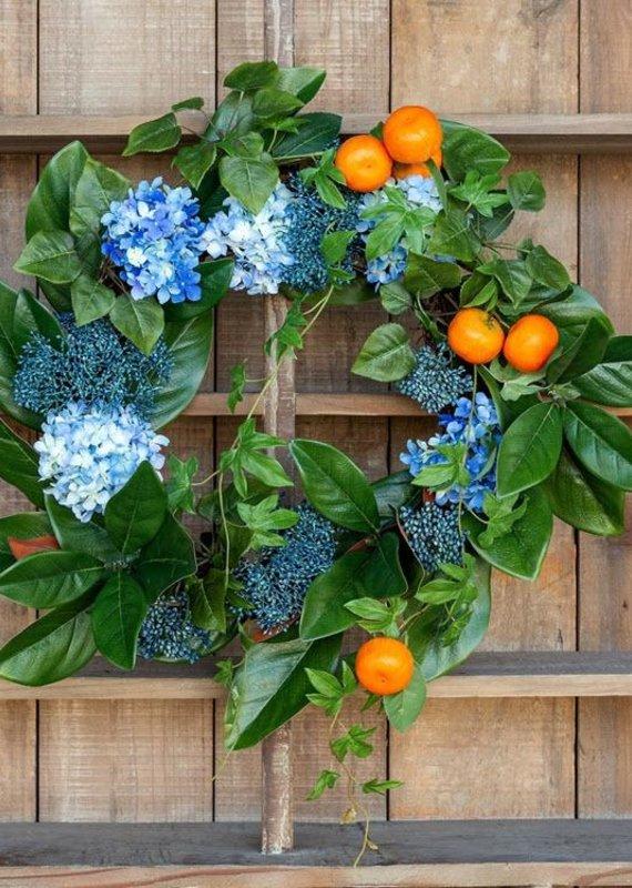 Spring Citrus Wreath