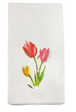 Tulips 3 Stem Tea Towel