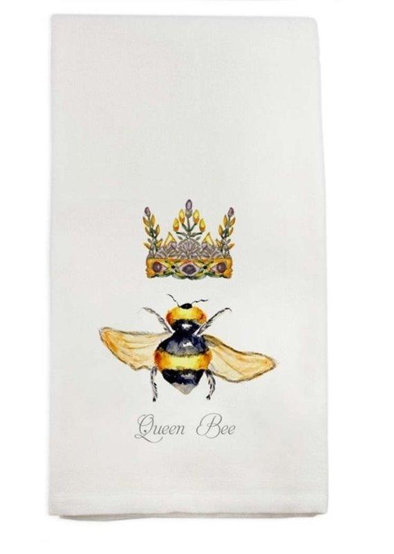 Queen Bee Tea Towel | Cotton