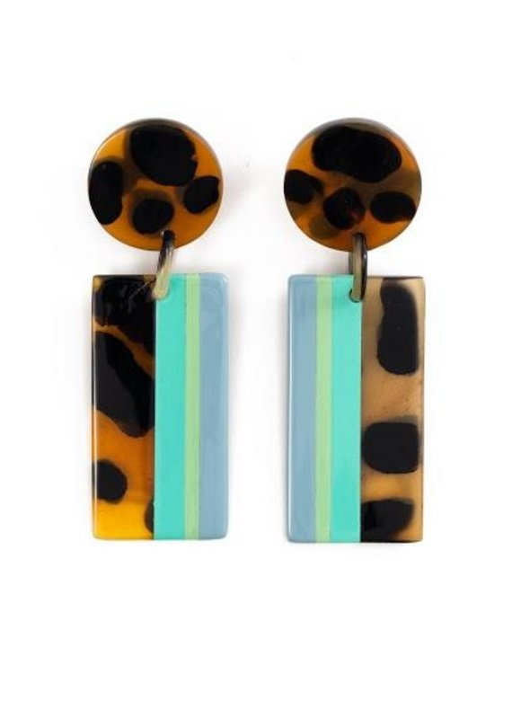 High Tide Cabana Earrings