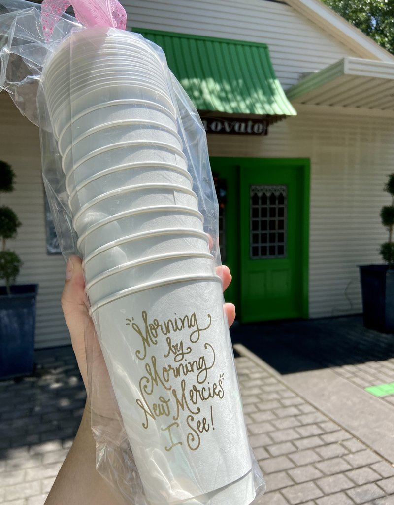 New Mercies Coffee Cups