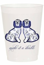 Make it a Double Reusable Cups