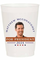 Matthew for President Reusable Cups