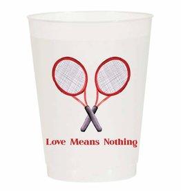 Tennis Love Reusable Cups