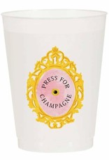 Press for Champagne Reusable Cups