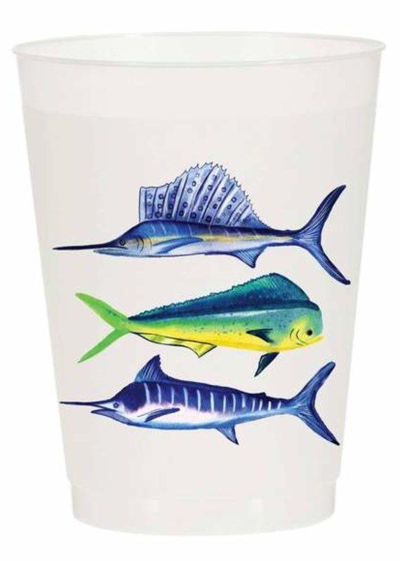 Sport Fish Reusable Cups