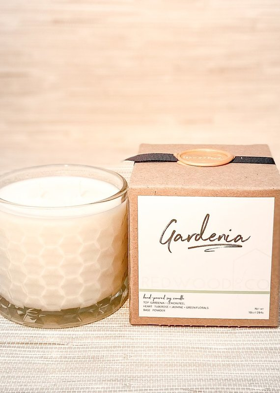 Gardenia Double Wick Candle