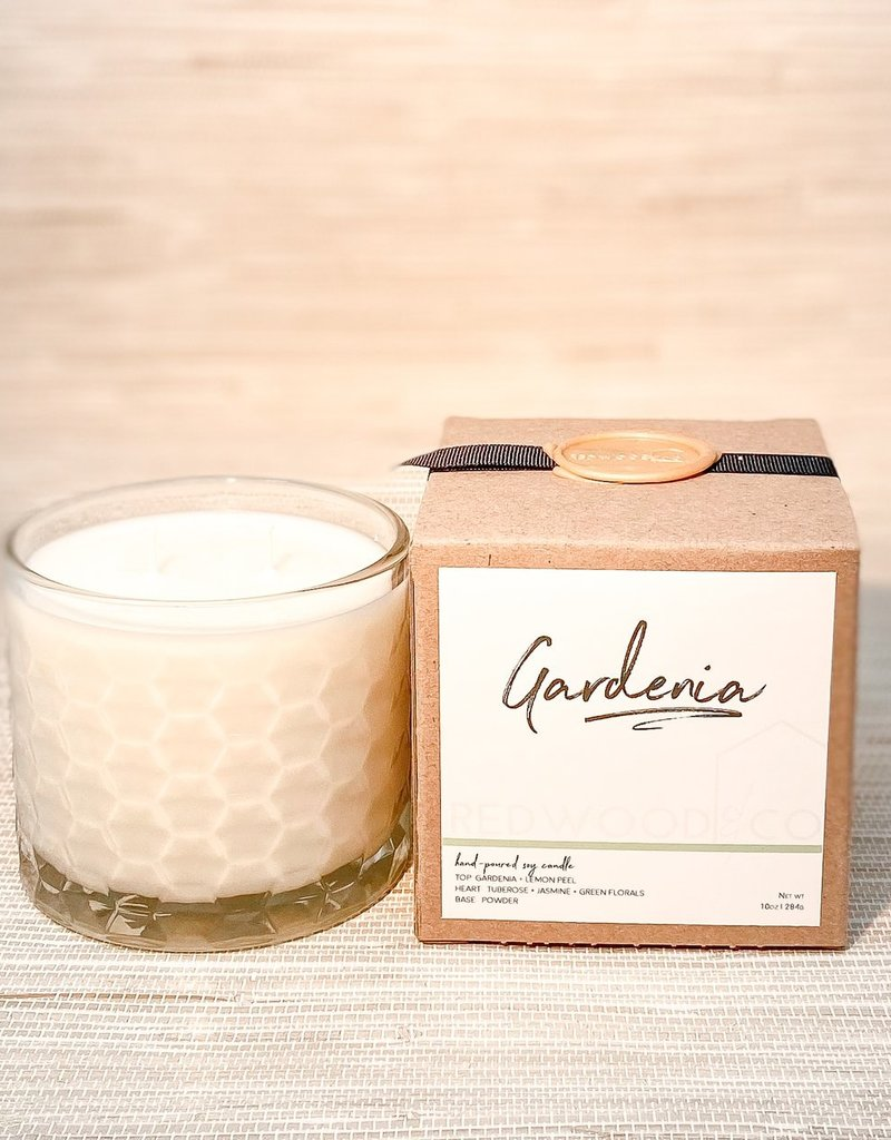 Gardenia Double Wick Candle