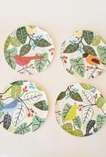 Bird and Foliage Plates-Asst