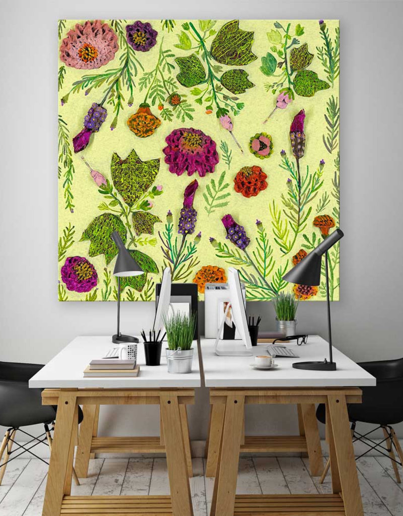 Wildflowers 24X24 Spanish Lavender