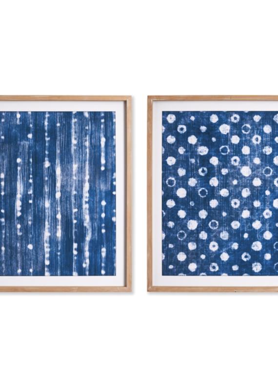 Batik Diptych Prints -Set of 2
