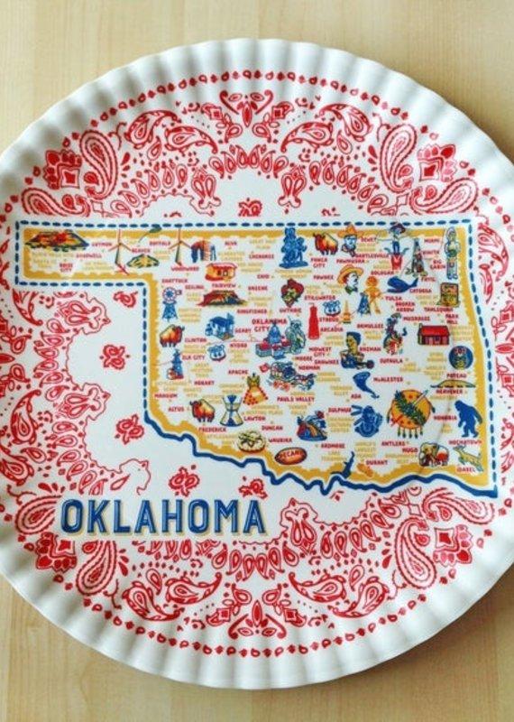 Melamine Oklahoma Platter