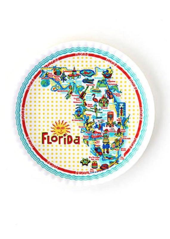 Florida Melamine Platter