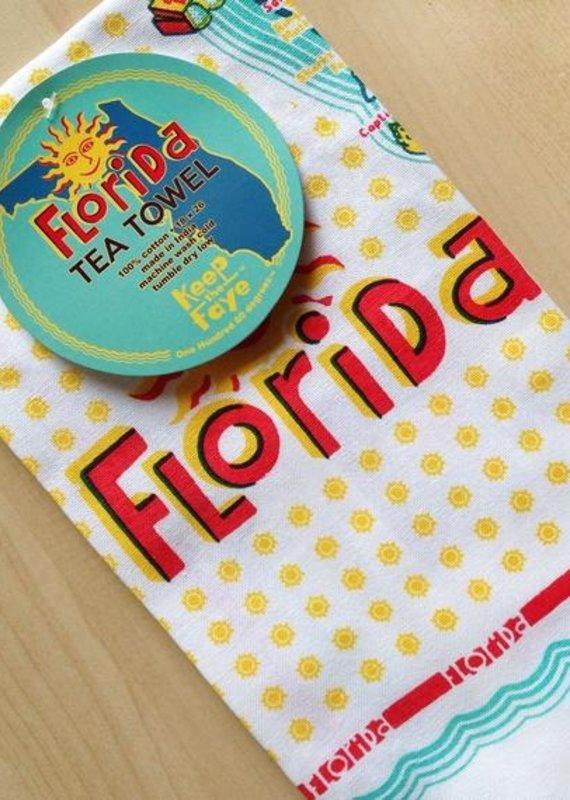 Florida Dish Towel