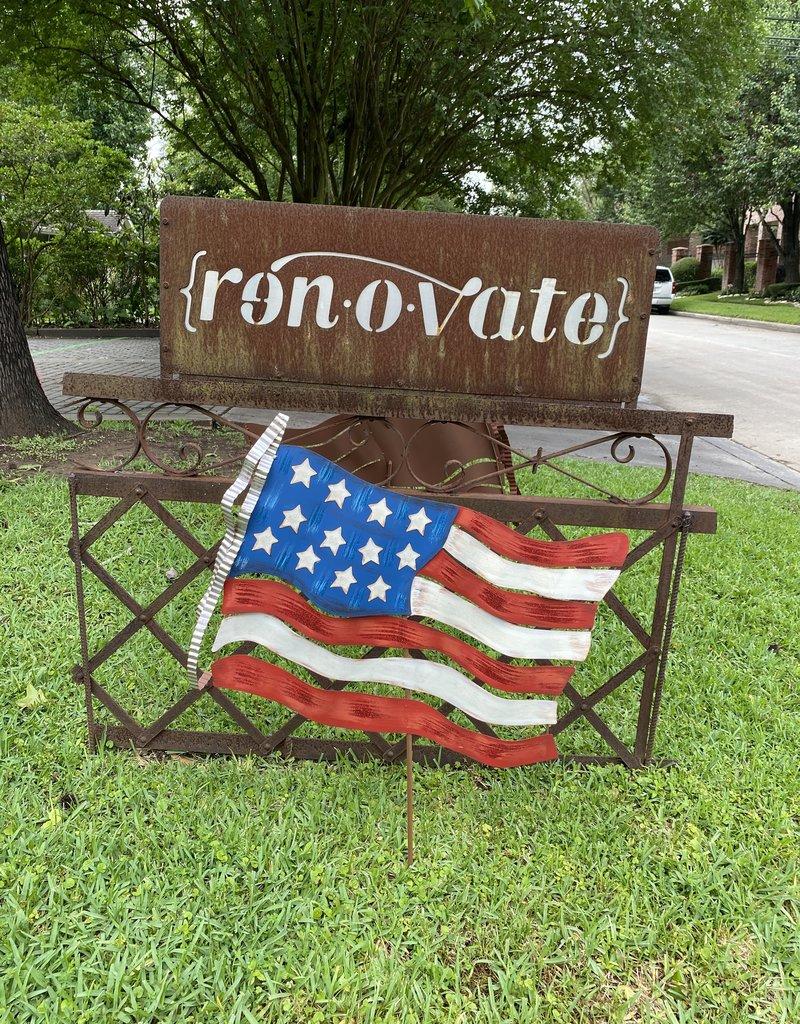 American Flag Stake/Hanger