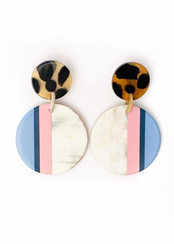 Merida Circle Earrings