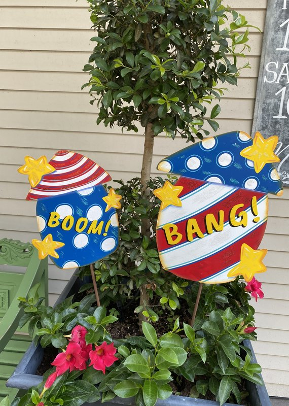 Bang/Boom Firecracker Stakes | Set of 2