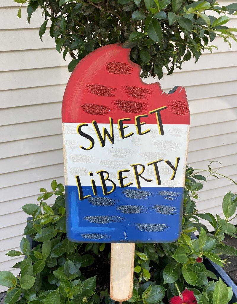 Sweet Liberty Popsicle