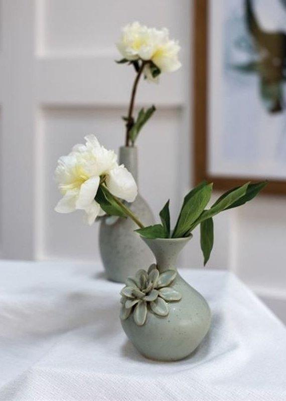 Arabella Grey Flower Vase