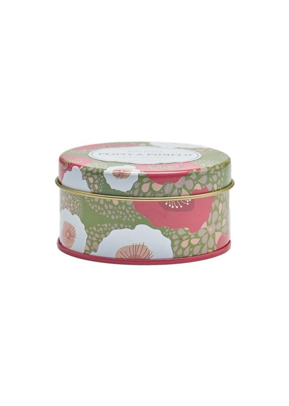 Peony and Pomelo Travel Tin Candle