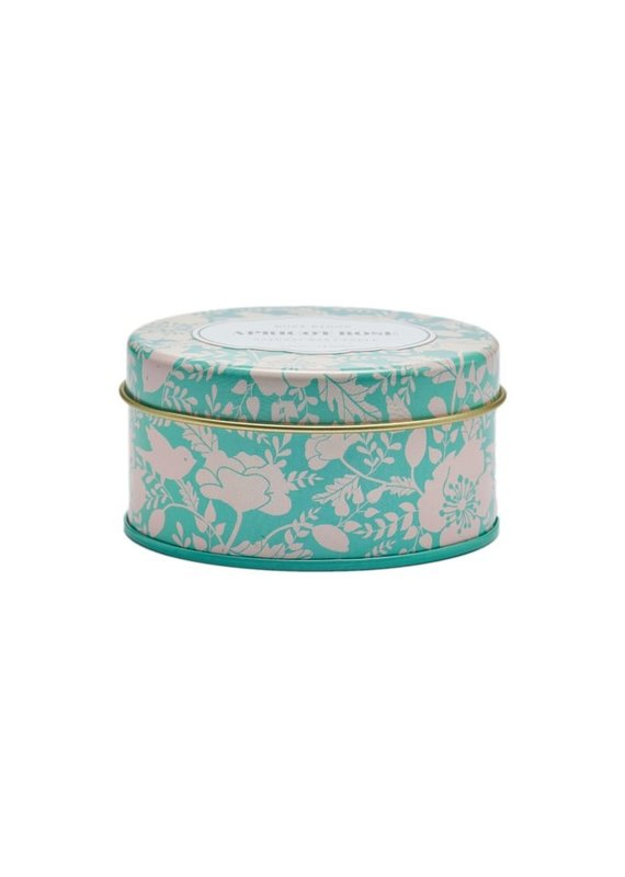 Apricot Rose Travel Tin Candle