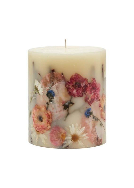 Apricot Rose Small Botanical Candle