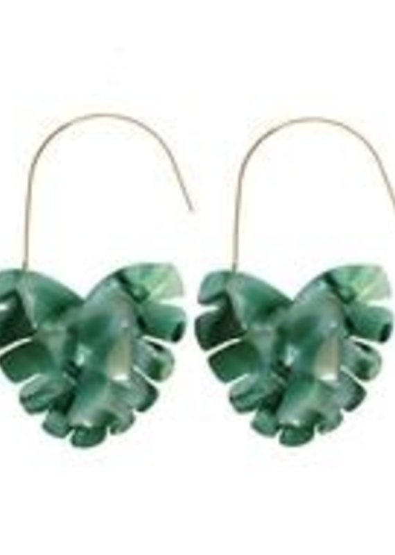 Monstera Palm Threaders Green