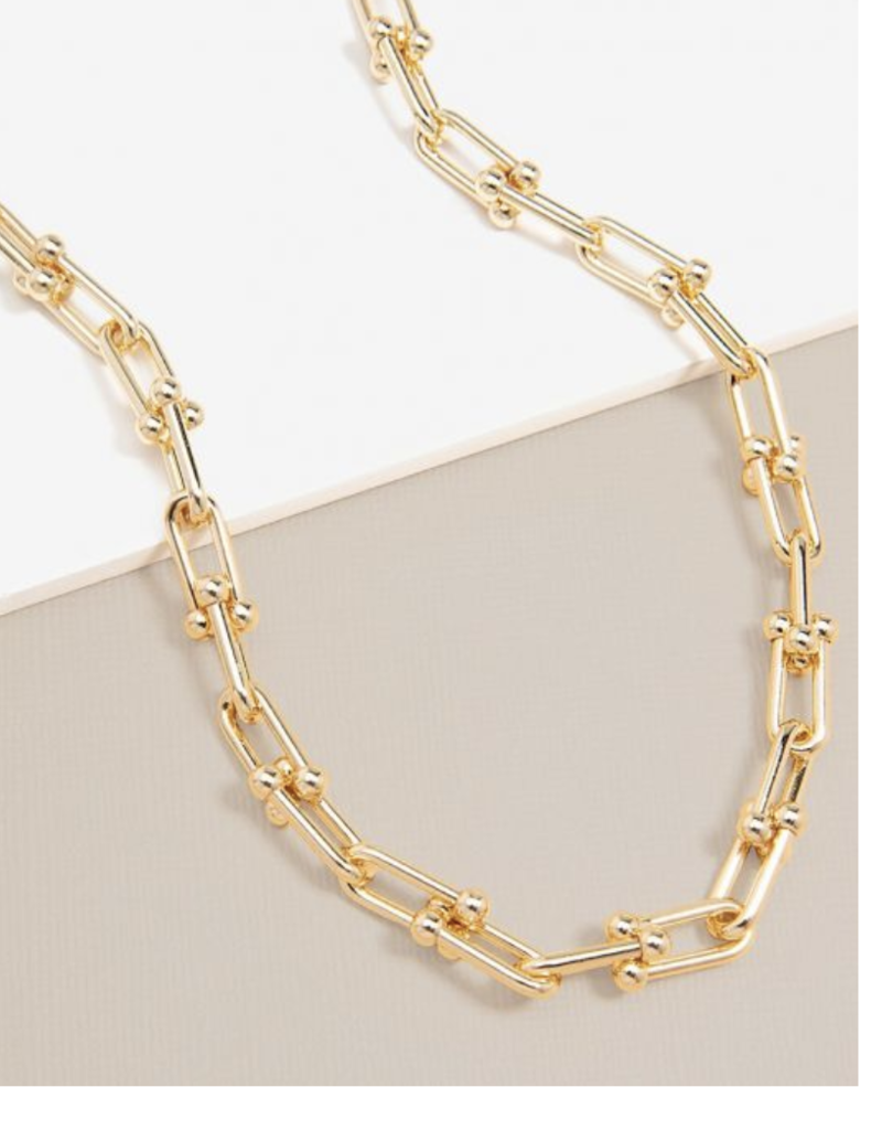 Cable Chain Collar Necklace