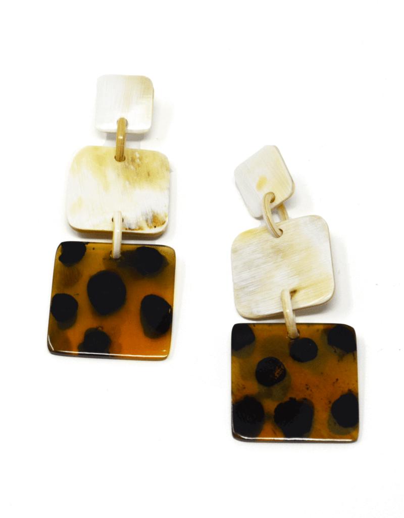Safari Outline Earrings