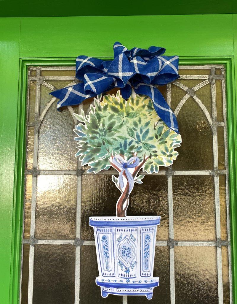 Topiary Door Hanger