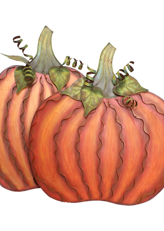 Pumpkin Pair Set of 2