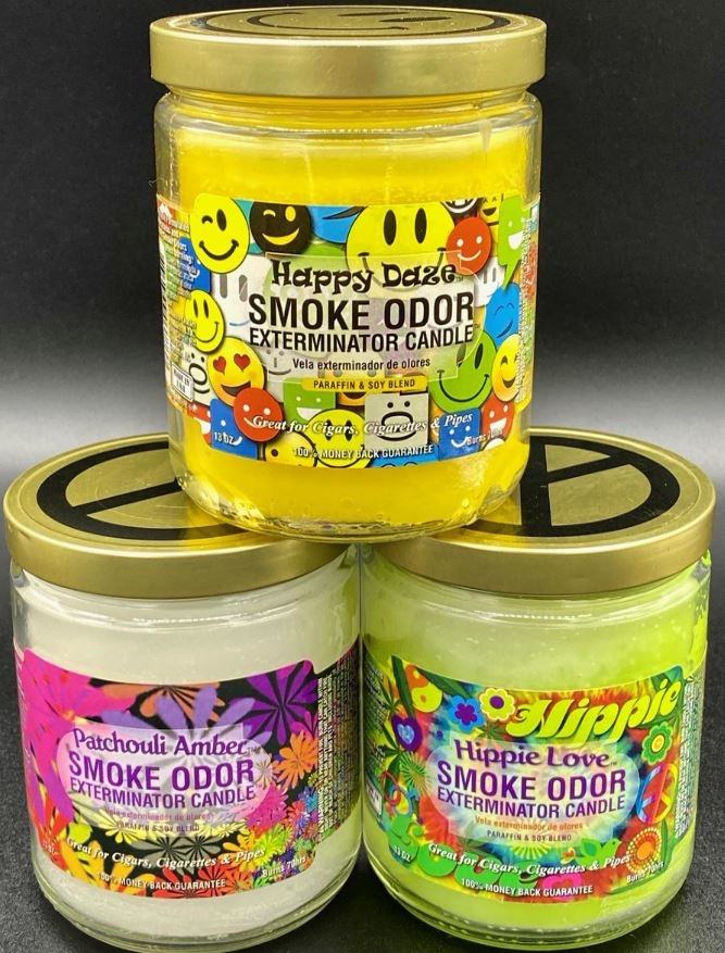 Lock down stinks, Happy Daze removes Smoke Odor!