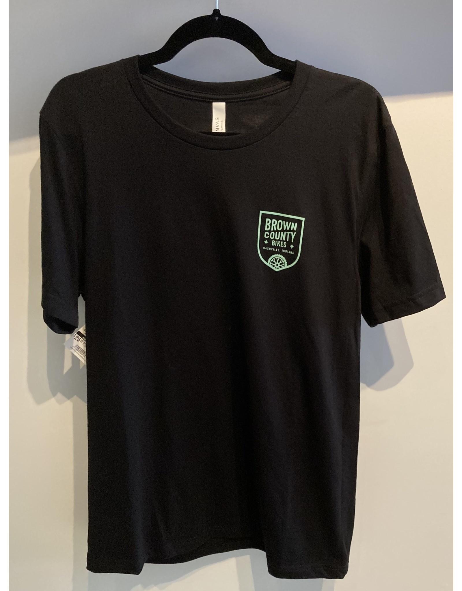 Brown County Bikes Black T-Shirt