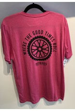 Custom Brown County Bikes Gear Brown County Bikes Pink T-Shirt