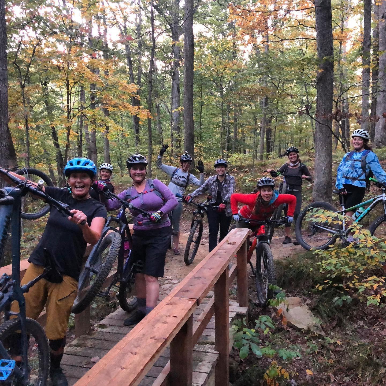 Group Bike Ride Brown County Bikes